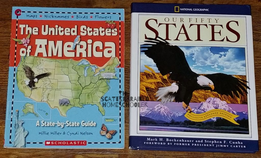 United States Geography and History : Homeschool State Study -